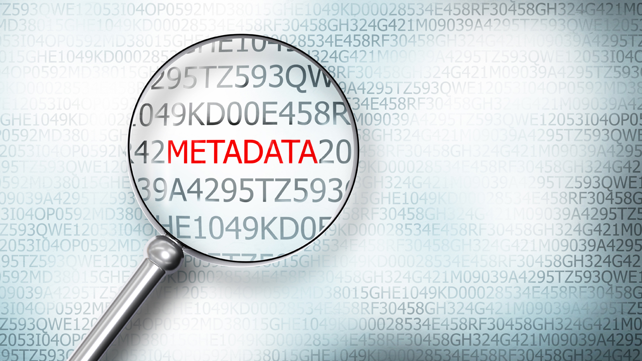 Using Metadata in tha Law