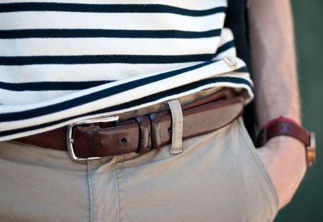 Belt with Dress Pants